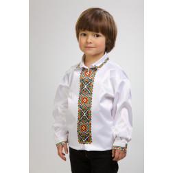 Заготовка дитячої сорочки на 4-7 років Борщівська квітка для вишивки бісером СД004кБ34нн