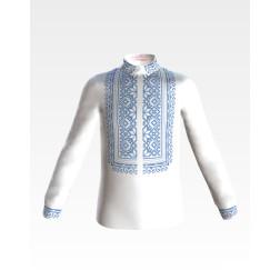 Заготовка дитячої сорочки на 1-3 років для вишивки бісером і нитками Барвиста Вишиванка Мамина ніжність СД005дБ28нн