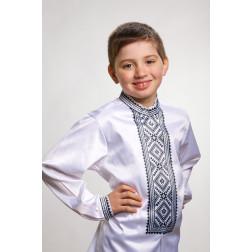 Заготовка дитячої сорочки на 4-7 років Жито для вишивки бісером СД006кБ34нн