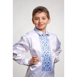 Заготовка дитячої сорочки на 1-3 років Зірка для вишивки бісером СД007кБ28нн