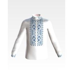 Заготовка дитячої сорочки на 1-3 років для вишивки бісером і нитками Барвиста Вишиванка Зірка СД007дБ28нн