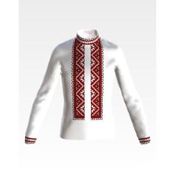 Заготовка дитячої сорочки на 4-7 років для вишивки бісером і нитками Барвиста Вишиванка Старовинний орнамент СД008дБ34нн