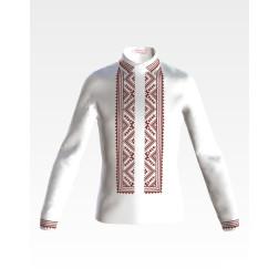 Заготовка дитячої сорочки на 4-7 років для вишивки бісером і нитками Барвиста Вишиванка Жито СД009дБ34нн