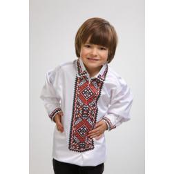 Заготовка дитячої сорочки на 1-3 років Поділля для вишивки бісером СД010кБ28нн