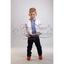 Комплект чеського бісеру Preciosa до дитячої сорочки, вишиванки на 3-5 років СД012кБ28ннb