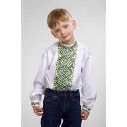 Заготовка дитячої сорочки на 1-3 років Жито для вишивки бісером СД013кБ28нн