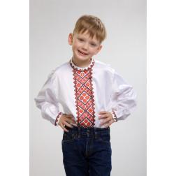 Заготовка дитячої сорочки на 1-3 років Світанок для вишивки бісером СД014кБ28нн