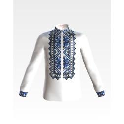 Заготовка дитячої сорочки на 1-3 років Весняна для вишивки бісером СД024шБ28нн