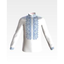 Заготовка дитячої сорочки на 1-3 років для вишивки бісером і нитками Барвиста Вишиванка Роса СД032дБ28нн