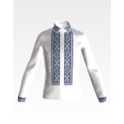 Заготовка дитячої сорочки на 4-7 років для вишивки бісером і нитками Барвиста Вишиванка Чарівниця СД045дБ34нн