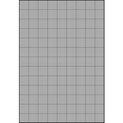 Схема для вишивки бісером на водорозчинному клейовому флізеліні Барвиста Вишиванка Канва 12 ct 20х30 ФЛ001гн2030