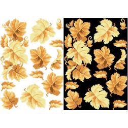 Схема для вишивки бісером на водорозчинному неклейовому флізеліні Барвиста Вишиванка Канва з нанесеним малюнком 20х30 ФЛ011фн2030