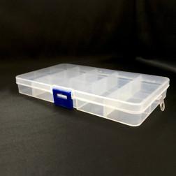Міні органайзер для бісеру (10 ячейок) 13х7х2,2см РУ028оХ1307