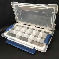 Органайзер для бісеру з окремими контейнерами (15 шт.) в коробці 23х12х3см РУ039оХ2312