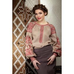Комплект ниток ДМС до жіночої блузки – вишиванки БОХО Молодіжна ЖЕ001лКнн01_004_005h