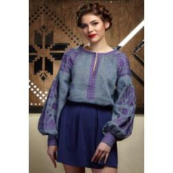 Пошита жіноча вишиванка БОХО для вишивання нитками Мрія ЖЕ002лУ4201_032_015