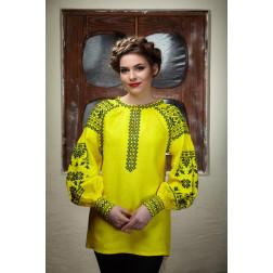 Пошита жіноча вишиванка БОХО для вишивання нитками Мрія ЖЕ002лЖ4201_009_014