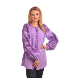 Пошита жіноча вишиванка БОХО для вишивання нитками Намисто ЖЕ003лФ4202_231_026