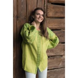 Пошита жіноча вишиванка БОХО для вишивання нитками Намисто ЖЕ003лТ4202_030_166