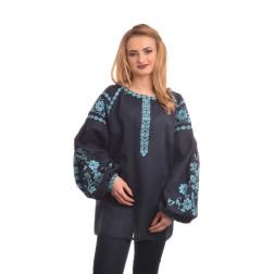 Пошита жіноча вишиванка БОХО для вишивання нитками Урочиста ЖЕ004лУ4201_217_147