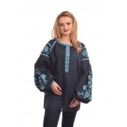 Комплект ниток ДМС до жіночої блузки – вишиванки БОХО Урочиста ЖЕ004лУнн01_217_147h