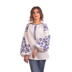 Пошита жіноча вишиванка БОХО для вишивання нитками Урочиста ЖЕ004лБ4201_054_116