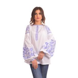 Комплект ниток ДМС до жіночої блузки – вишиванки БОХО Урочиста ЖЕ004хБнн01_101_047h