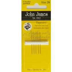 Tapestry - Голки для вишивки хрестиком з великим вушком та тупим кінцем (Розмір - 28) JJ19828