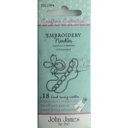 Embroidery - Набір голок для вишивки (Розмір 3/7) JJCC004