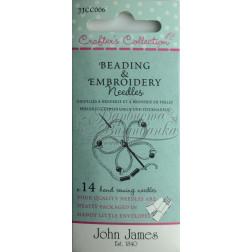 Beading & Embroidery - Набір голок для вишивки з бісером (Розмір 5/10) JJCC006