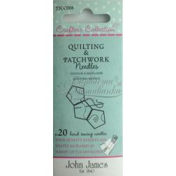 Quilting & Patchwork - Набір голок для квілтінгу та печворку (Розмір 3/7) JJCC008