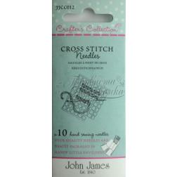Cross Stitch - Набір голок для вишивки хрестиком JJCC012