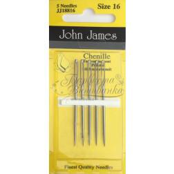 Chenille - Голки для вишивки стрічками або шерстю (Розмір 16) JJ18816