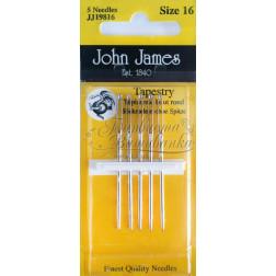 Tapestry - Голки для вишивки хрестиком з великим вушком та тупим кінцем (Розмір - 16) JJ19816