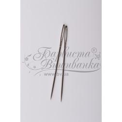 Голки для вишивки з великим вушком та гострим кінцем (Розмір - 20) Chenille-20