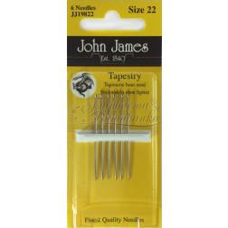 Tapestry - Голки для вишивки хрестиком з великим вушком та тупим кінцем (Розмір - 22) JJ19822