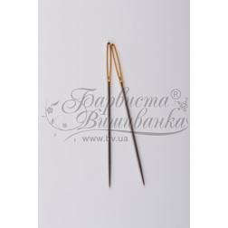 Голки для вишивки з великим вушком та гострим кінцем (Розмір - 18) Chenille-18