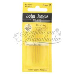 Beading - Набір довгих голок для вишивки бісером 12 розміру JJ10512