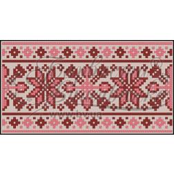 Пошитий клатч (Ukrainian boho) для вишивання нитками КЕ001лК1301_004_005