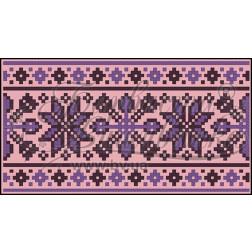 Пошитий клатч (Ukrainian boho) для вишивання нитками КЕ001лП1301_019_008
