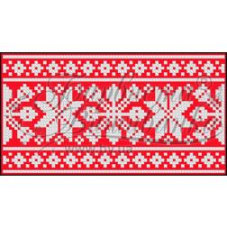 Пошитий клатч (Ukrainian boho) для вишивання нитками КЕ002лР1301_023_001