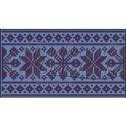 Пошитий клатч (Ukrainian boho) для вишивання нитками КЕ002лУ1301_032_015