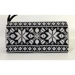 Пошитий клатч (Ukrainian boho) для вишивання нитками КЕ002лУ1301_217_001