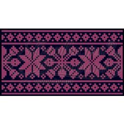 Пошитий клатч (Ukrainian boho) для вишивання нитками КЕ002лУ1301_217_019