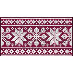 Пошитий клатч (Ukrainian boho) для вишивання нитками КЕ002лУ1301_236_001