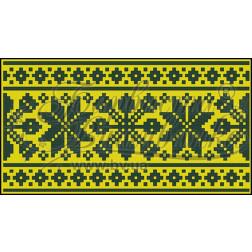 Пошитий клатч (Ukrainian boho) для вишивання нитками КЕ002лЖ1301_009_014