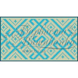 Пошитий клатч (Ukrainian boho) для вишивання нитками КЕ003лЗ1301_027_017