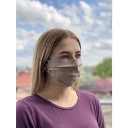 Маска для обличчя захисна багаторазова Барвиста Вишиванка, 100% льон , 22х14х8 см МА002лК2201_004