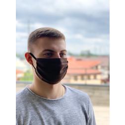 Маска для обличчя захисна багаторазова Барвиста Вишиванка, 100% льон , 22х14х8 см МА002лК2201_015