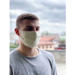 Маска для обличчя захисна багаторазова Барвиста Вишиванка, 100% льон , 22х14х8 см МА002лМ2201_055